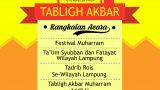 Tabligh Akbar Muharram 1440 H. Lampung