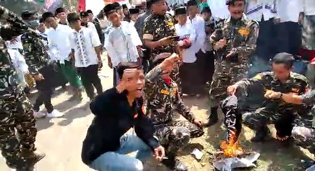 Pernyataan Pemuda Jama'ah Muslimin (Hizbullah) Terkait Pembakaran Bendera Tauhid