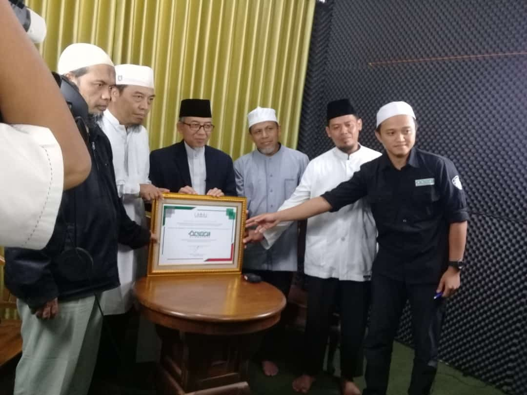 Imaam Resmikan Studio Al-Jama'ah TV