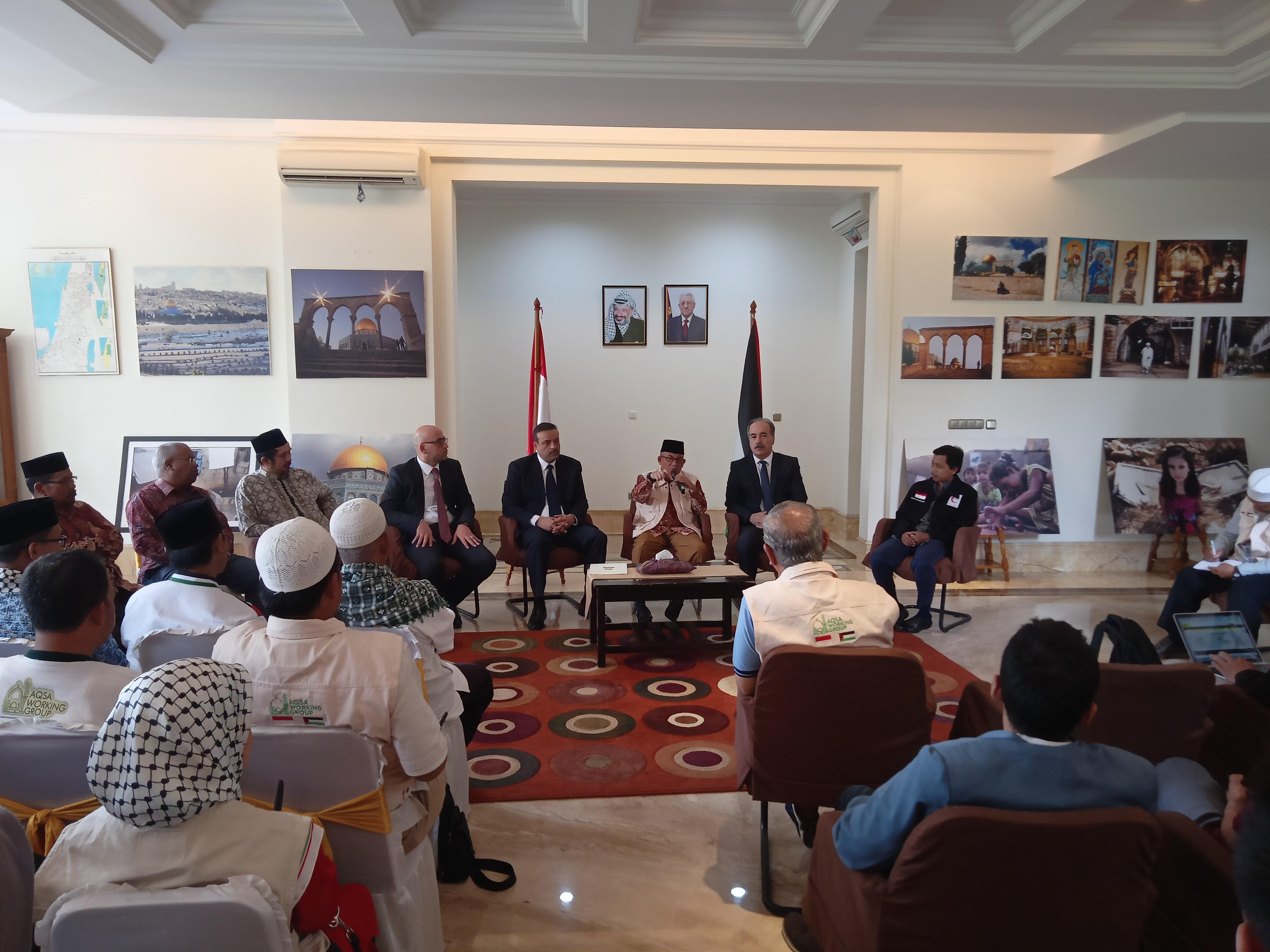Imaam : Tugas Konstitusional Indonesia Belum Sempurna Sampai Palestina Merdeka
