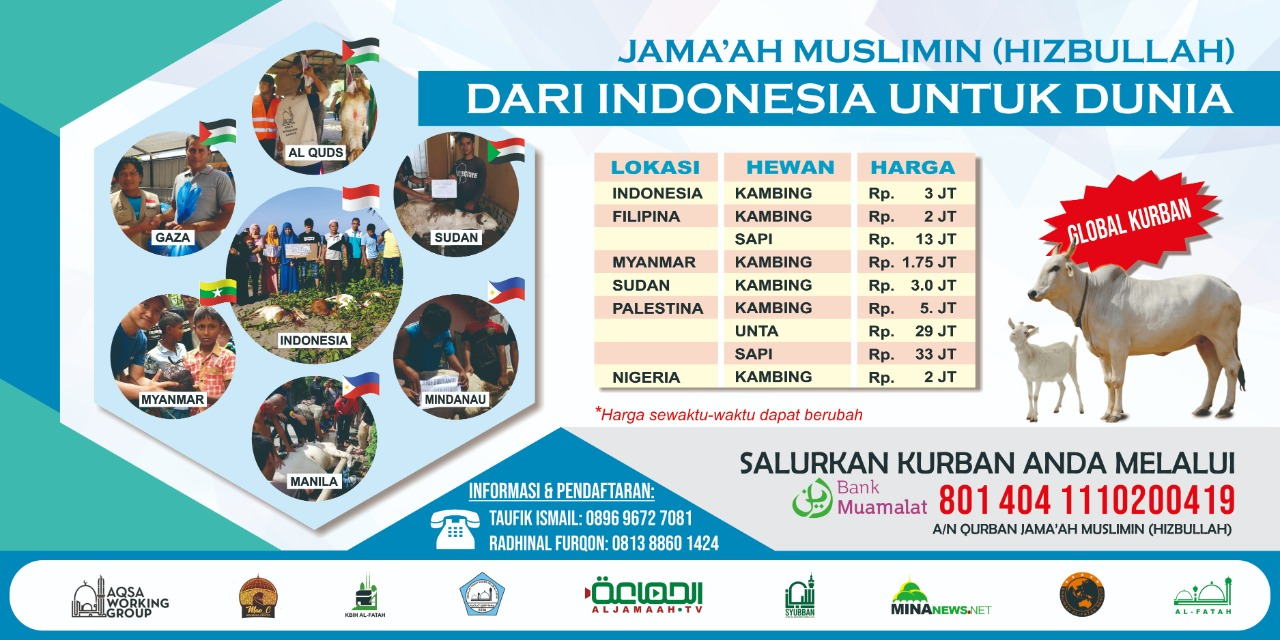 Gerakan Berqurban Luar Negeri dan Nusantara (GBLN)